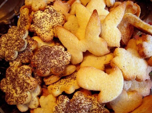 Маисовое печенье