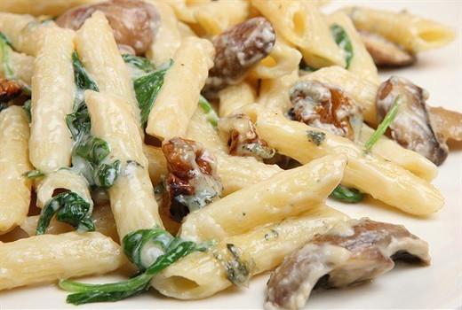 Вермишель с грибами - вкусно, быстро и просто