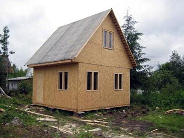 Как утеплить щитовой дом снаружи
