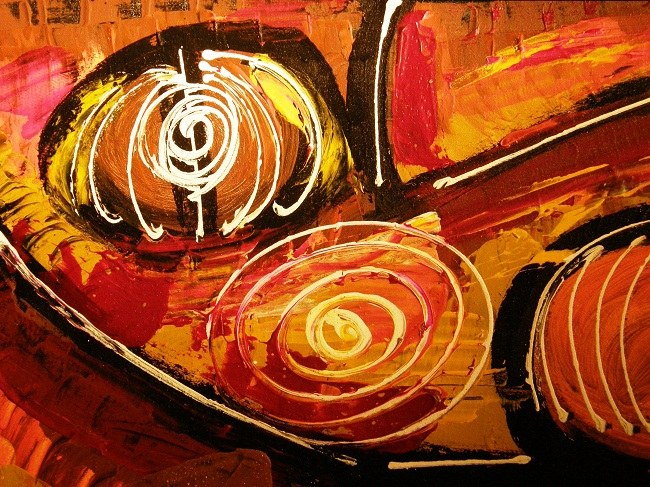 Абстракция в современном живописи