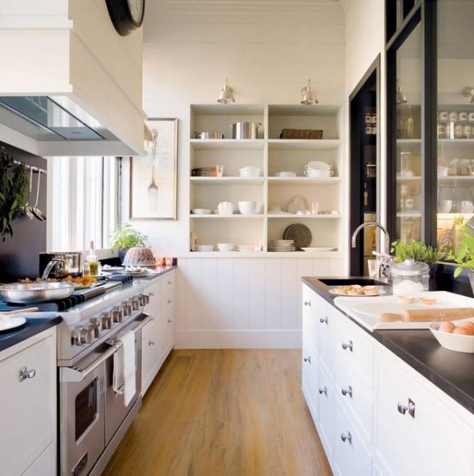 Как на 20 кв. м. организовать кухню, столовую и гостиную