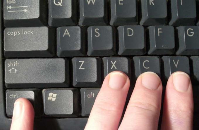 Как применять жгучие клавиши