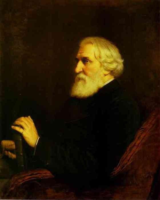 Перов В.Г. Портрет И.С. Тургенева (1872 г.)