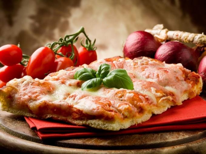 Как приготовить низкокалорийную пиццу