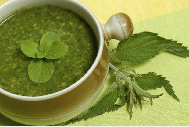 Как приготовить суп с крапивой