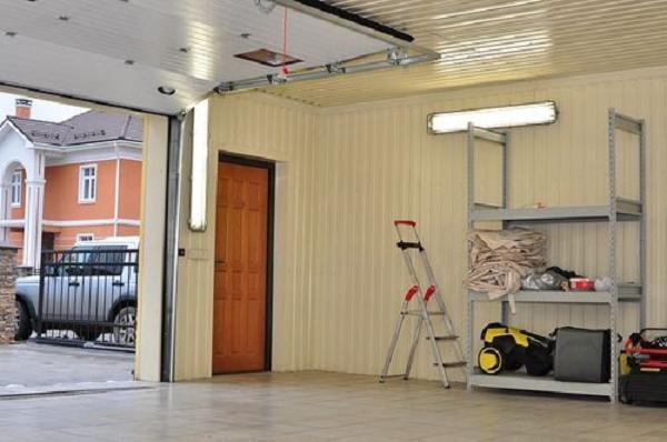 Как сделать потолок в гараж