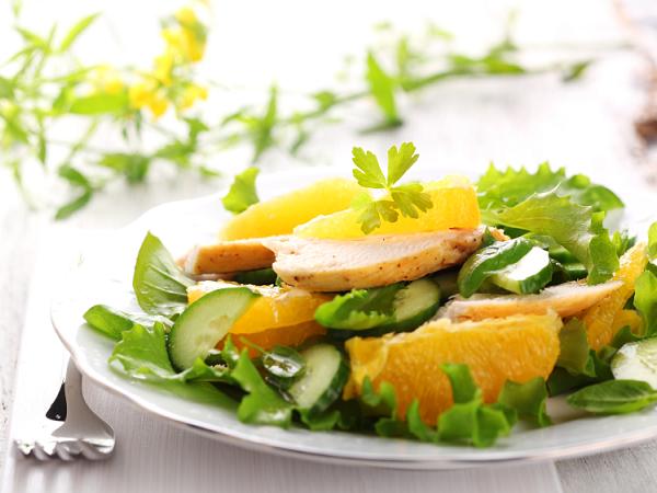 Блюда с апельсинами на каждый день