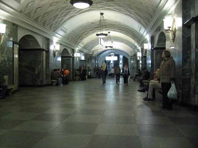 Одна из станций московского метро