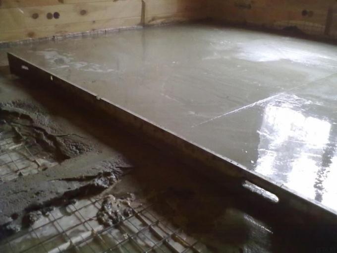 Цементная стяжка для пола