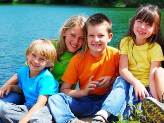 Отдых с детьми на озере