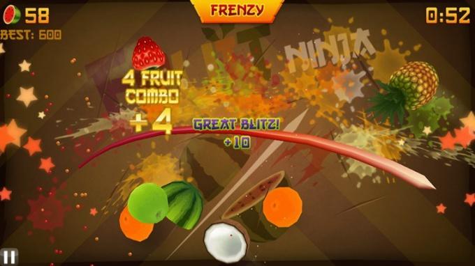 Во что поиграть в стиле Fruit Ninja