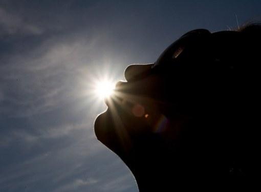Как высушить прыщики на солнце