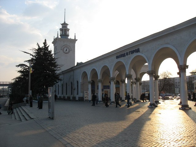 The main gate of Simferopol