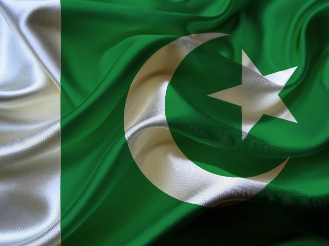 Символы ислама на флаге Пакистана