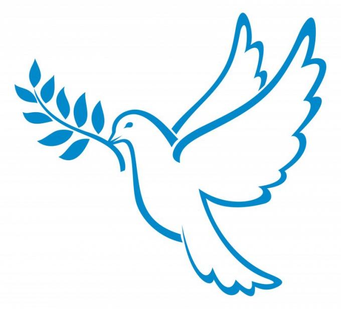 Как нарисовать символ мира