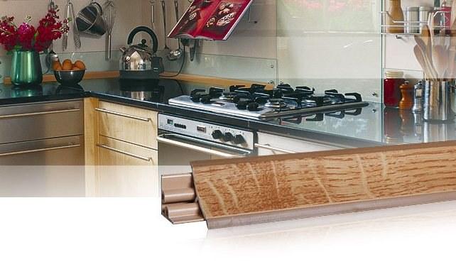 Плинтус для кухонных столешниц