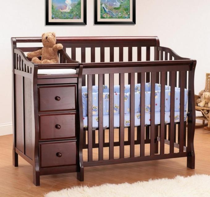 Как выбрать кроватку для нворожденного