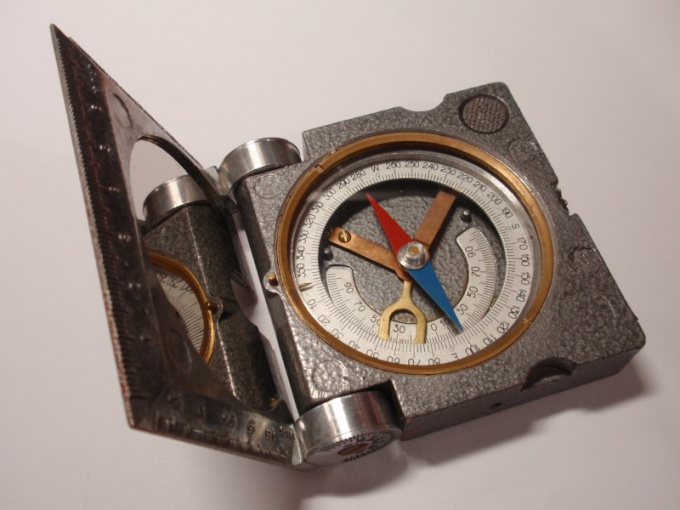 The usual magnetic compass