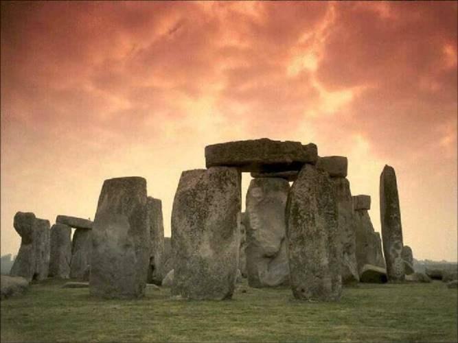Мегалитические постройки древних кельтов