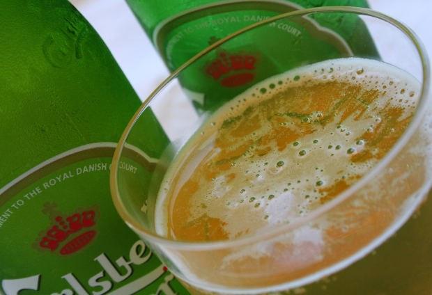 Оптимальная температура подаваемого пива - 6-8 оС