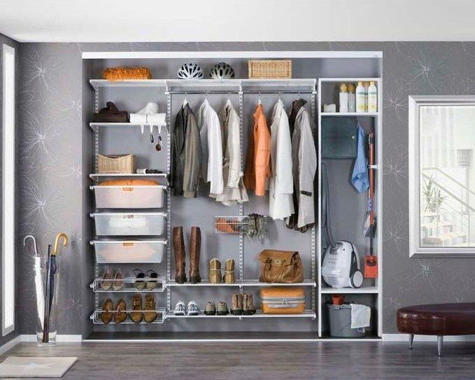 Как распланировать пространство в шкафу