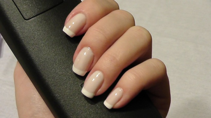 Ideally, nails should be smooth and even.