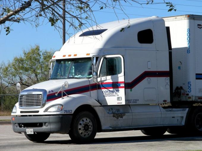 Водитель грузовика - востребованная профессия