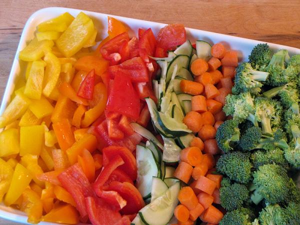 Что приготовить из некрахмалистых овощей