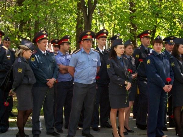 Современные российские полицейские
