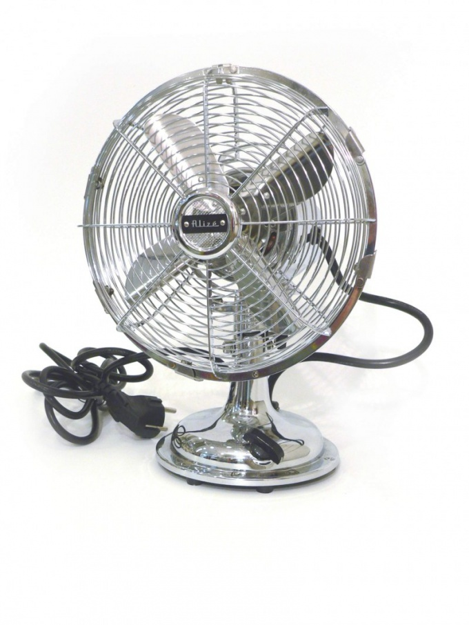 The fan will help cool not only in summer but in winter