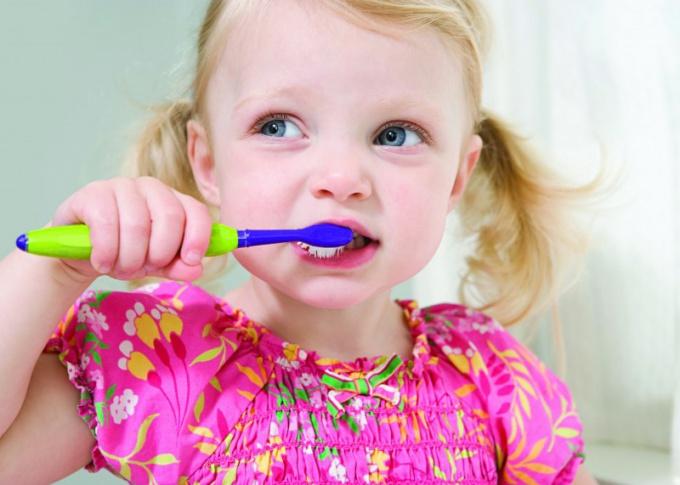 Основы личной гигиены закладываются в детстве