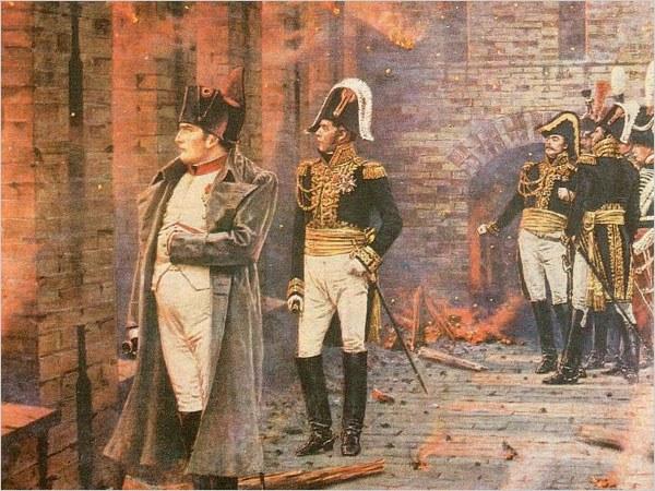Наполеон на Бородинском поле. Василий Верещагин