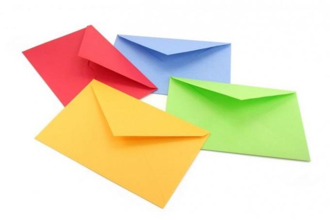 Как свернуть конверт
