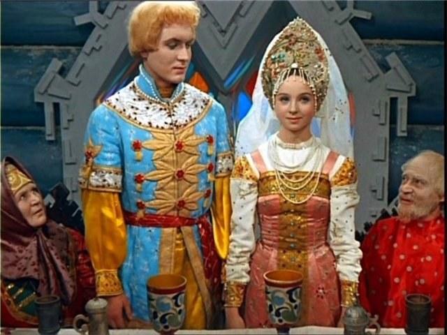 Свадебный русский костюм