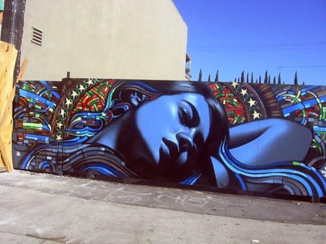 Где рисовать граффити