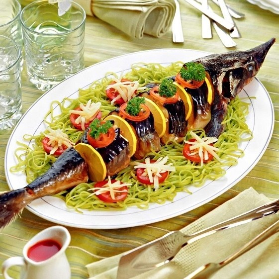 Издавна за нежный деликатесный вкус стерлядь называли «царской рыбой»
