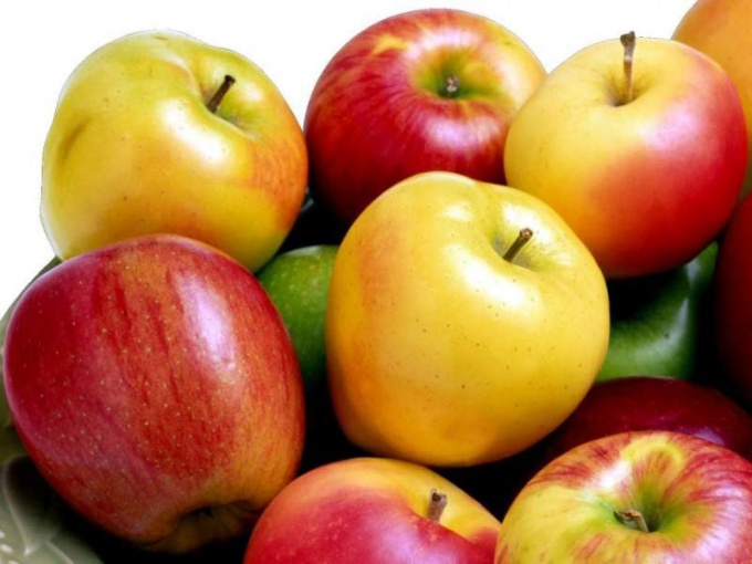 Methods for processing apples