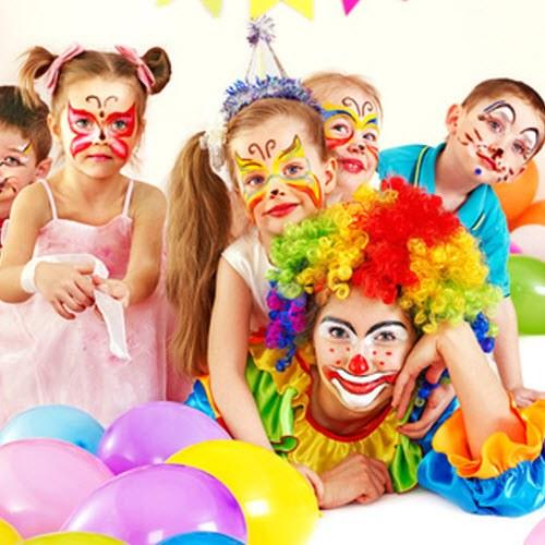 Детская вечеринка - праздник в разгаре