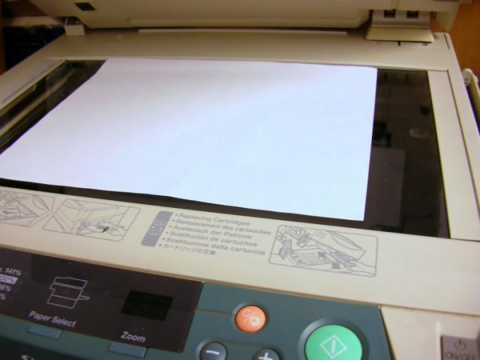 Формат djvu начинается со сканера