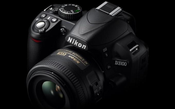 Как настроить выдержку на Nikon d3100
