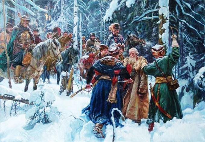 Смерть Ивана Сусанина