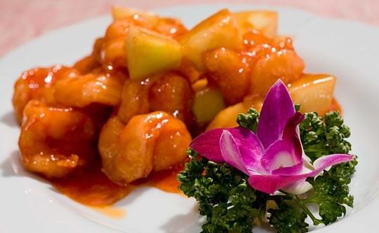 Креветки в сладко-остром соусе - деликатесное блюдо