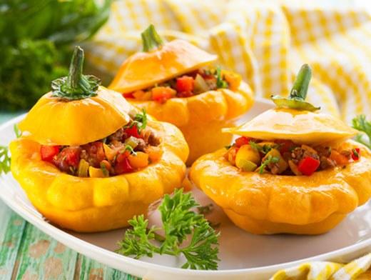 Блюда из патиссонов аппетитны. вкусны и полезны