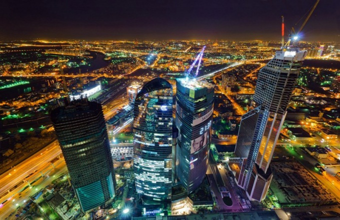 How to get to the observation deck of the Moscow-city