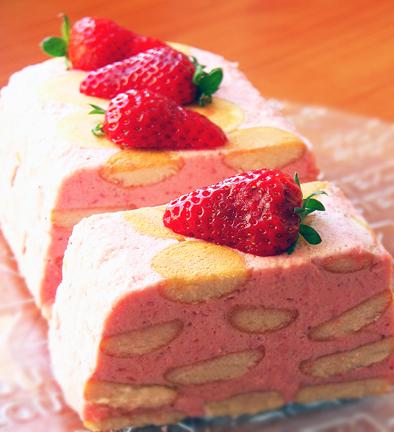 Как приготовить клубничный десерт с печеньем