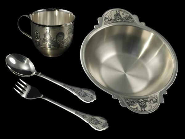 Как полировать столовое серебро