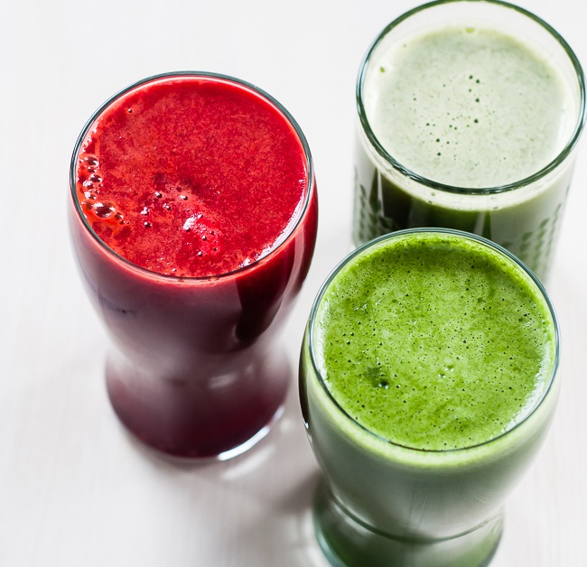 3 коктейля из свежевыжатого сока для очищения и укрепления организма