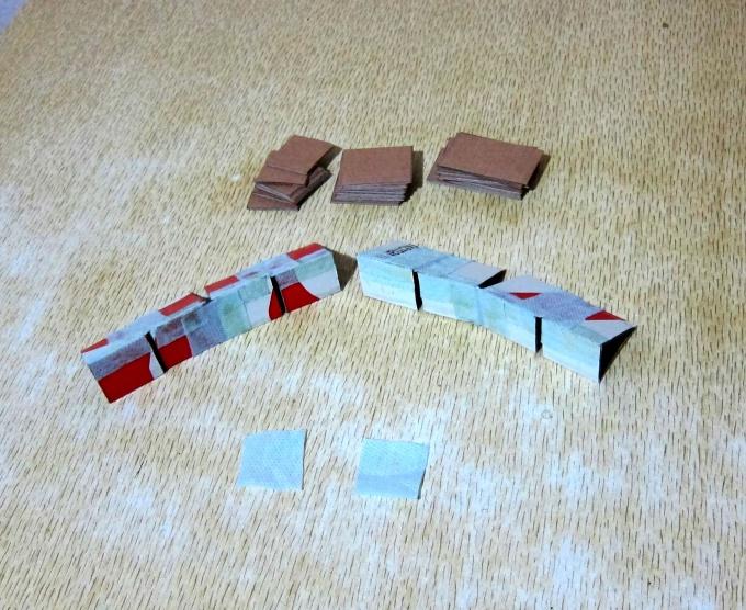 2 цепочки треугольных колец