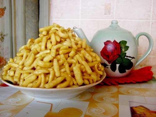 Татарский торт «Чак-чак»: простой рецепт национального лакомства