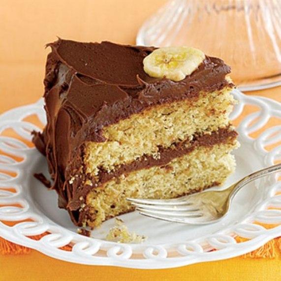 Банановый торт «Звезда»
